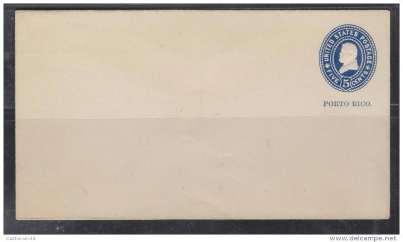 O) 1900 PUERTO RICO, US OCCUPATION IN PUERTO RICO, U 4 - ULY