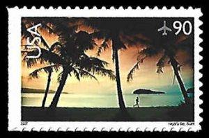 PCBstamps      C143 90c Hagatna Bay, Guam, MNH, (7)