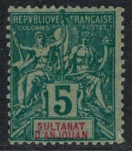 Anjouan #4*  CV $9.50