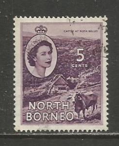 North Borneo    #265  Used  (1954)