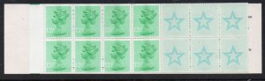 Great Britain Sc BK760, MH80e £2.20 Christmas stamp booklet mint NH