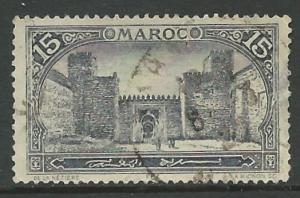 French Morocco # 60 Mosque at Fez   (1) VF Used