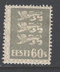 Estonia Sc # 103 mint hinged (DT)