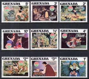 Grenada 1021-1029 Disney's MNH VF