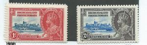 Bechuanaland Protectorate #117-118  (MNH) CV $4.00