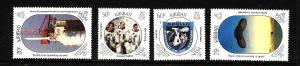 Kiribati-Sc#517-20-Unused NH set-Space-Moon Landing-1989-