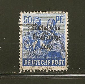 Germany 10N13 Russian Occupation Used