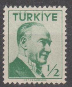 Turkey #1226 MNH F-VF (ST1828)