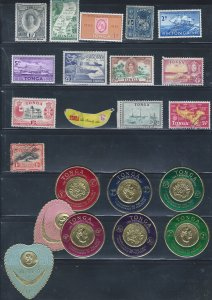 TONGA MINT & USED SCV $11.40 GROUP STARTS AT A LOW PRICE!!!