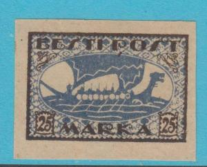 ESTONIA 37 MINT HINGED OG *  NO FAULTS  VERY FINE !