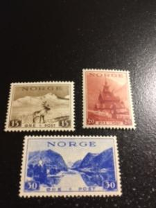 Norway sc 181-183 MNH