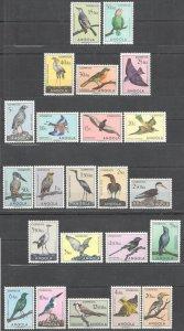 KS 1951 ANGOLA BIRDS FAUNA !!! RARE STAMPS MNH