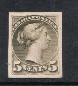 Canada #38P Extra Fine Plate Proof **With Certificate**
