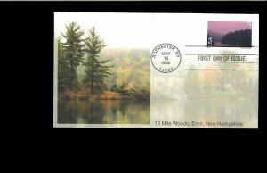 2008 FDC 13 Mile Woods New Hampshire  Rochester NY