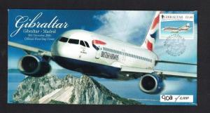 Gibraltar: 2006, 75th Anniv.of Gibraltar Air Mail, First Flight,unaddressed FDC