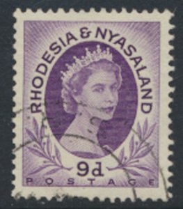 Rhodesia & Nyasaland SG 8 Sc# 148  Used  please see  scan / details