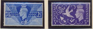 Great Britain Stamps Scott #264 To 265, Mint Hinged - Free U.S. Shipping, Fre...
