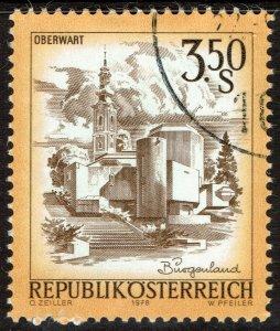 Austria #963A  Used - 3.5s Easter Church Oberwart (1978)