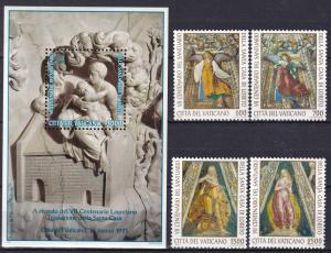Vatican City #973-7  MNH CV $11.35 Z76