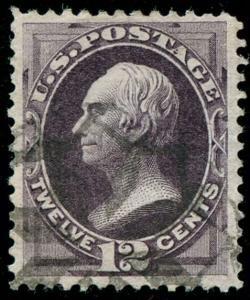 momen: US Stamps #162 Used VF/XF NYFM Cancel