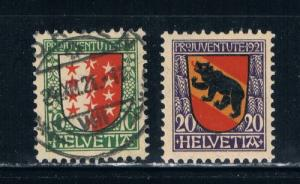 Switzerland B18-19 MLH Used Coat of arms (S0304)