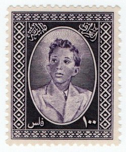(I.B) Iraq Revenue : Duty Stamp 100f (King Faisal II)