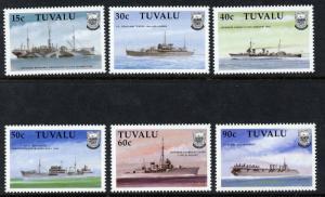 Tuvalu 543-8 MNH Ships, Warships