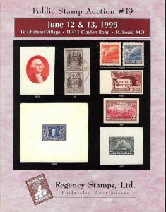 Public Stamp Auction #19, Regency 19