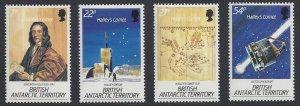 British Antarctic Territory #129-32 MNH set, Haley's comet
