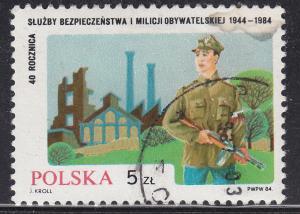 Poland 2641 Polish Militia 1984