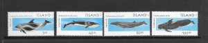 WHALES - ICELAND #945-8 MNH