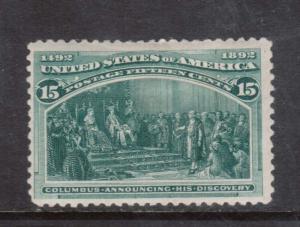 USA #238 Mint