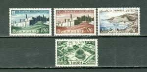 TUNISIA 1953 AIR #C17-20...SET...MNH...$105.75