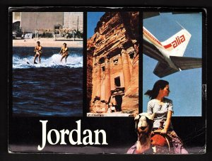 QSL QSO RADIO CARD Jordan/JY6BM, (Q793)