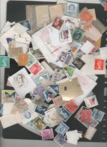 CANADA STAMPS USED OFF PAPAER HI DENOM FALLOUT LOT 142 0119