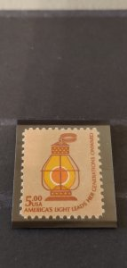 US Scott 1612 $5 Lantern MNH