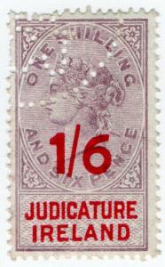 (I.B) QV Revenue : Judicature Ireland 1/6d