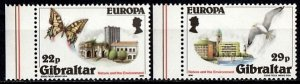 Gibraltar 1986 S.G. 532-533MNH (1351)