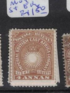 British East Africa SC 9 1 Straight Edge (varying Sides) MOG (7drr)