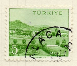 Turkey 1958-60 Early Issue Fine Used 5p. NW-17456