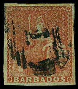 BARBADOS 4  Used (ID # 64494)