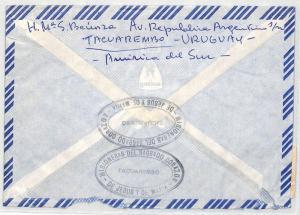 Uruguay Cover MISSIONARY STATION CACHET *Tacuarembo* 1984 Air Mail MIVA CA347