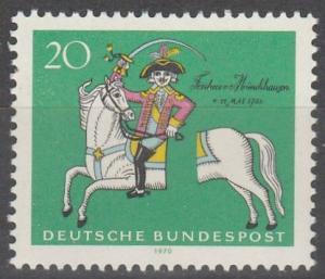 Germany #1020  MNH F-VF (SU3832)