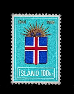 ICELAND 409 MNH