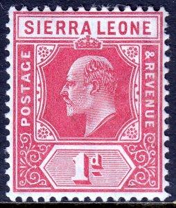Sierra Leone - Scott #91 - MH - SCV $6.25