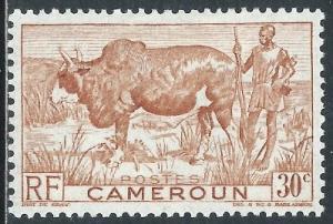 Cameroun, Sc #305, 30c MH