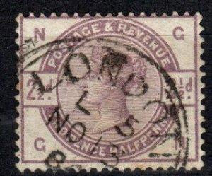 Great Britain #101  F-VF Used CV $18.00  (X3401)