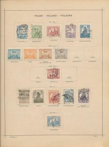 POLAND 1920s/30s M&U Incl.Airs (Appx 100 Items) AC 1333