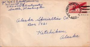 United States A.P.O.'s 6c Transport 1944 U.S. Army Postal Service, A.P.O. [98...