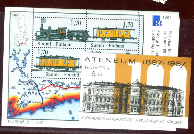 FINLAND #755 758 BOOKLET VF NH Cat $24